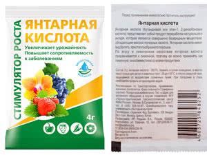 Бурштинова кислота: інструкція із застосування