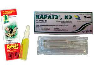 Инсектицид Каратэ – инструкция по применению