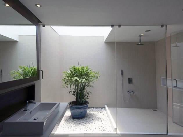Цветы в ванной комнате – за и против