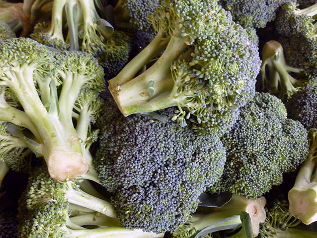 Капуста броколі після збору врожаю