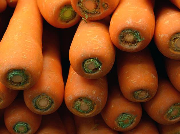 Помаранчева морква