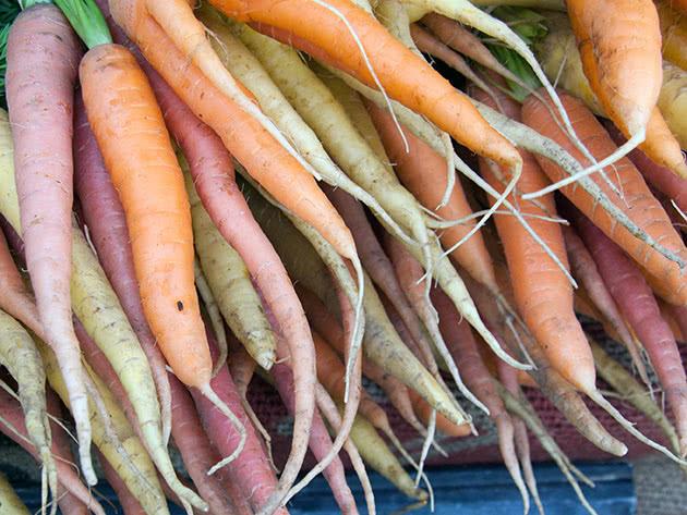 Плоди моркви городньої