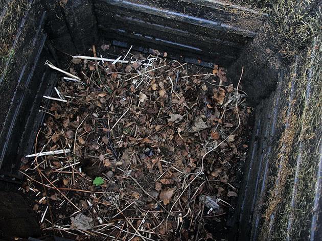 Компост в компостной яме