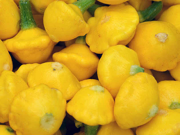 Жовті патисони