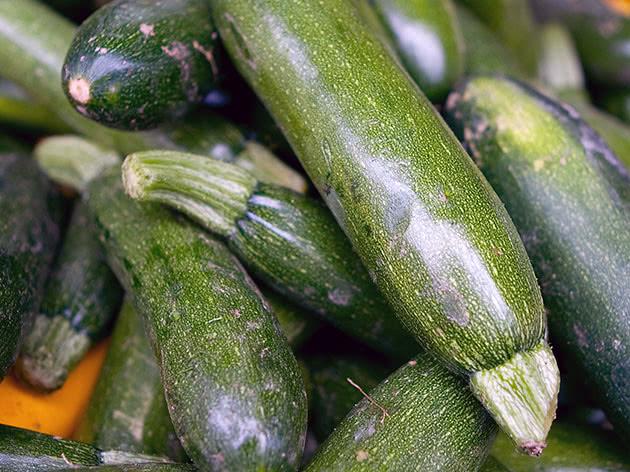 Зелені кабачки