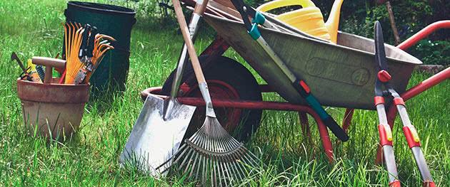 Обробка садового інвентарю