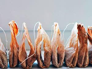 Розсада в чайних пакетиках