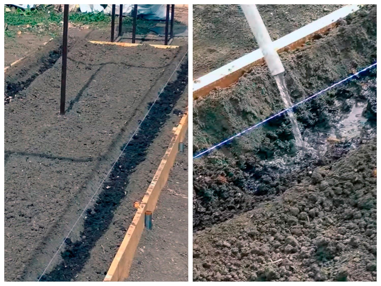 Подготовка грядки к посадке рассады огурцов