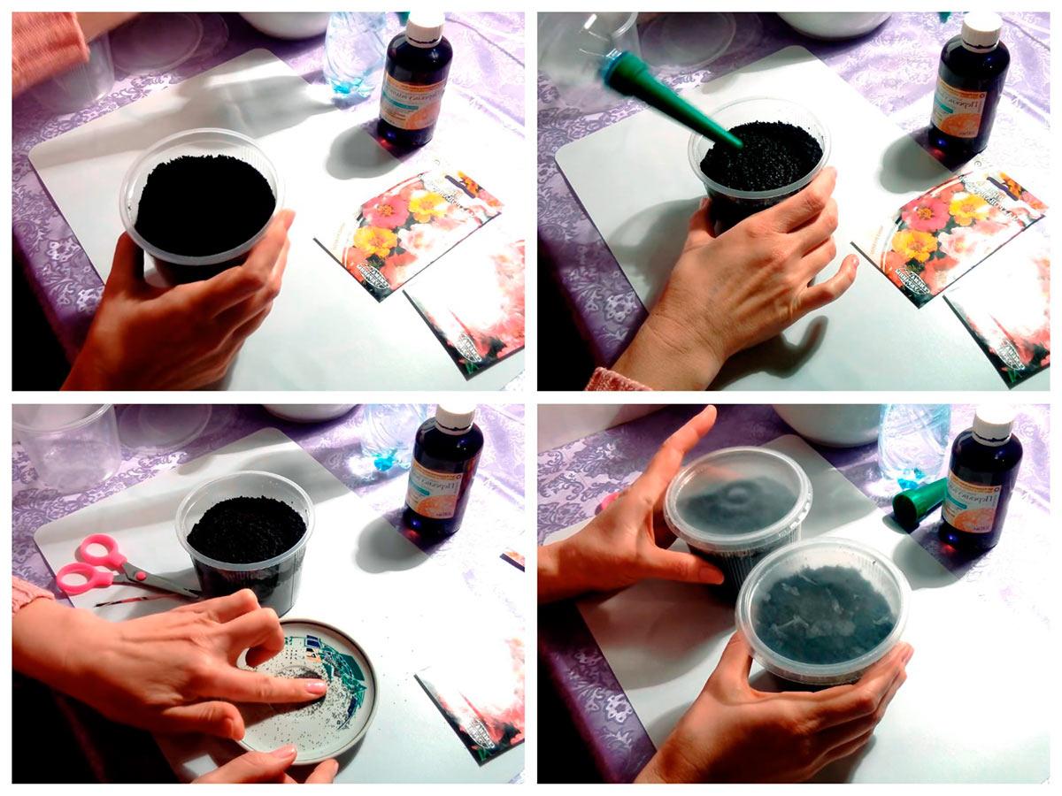 Подготовка к пикировке лобелии