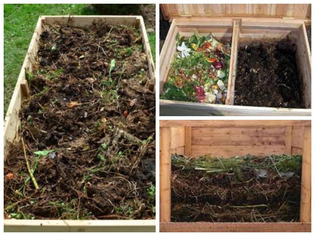 Добавляем сорняки в компост